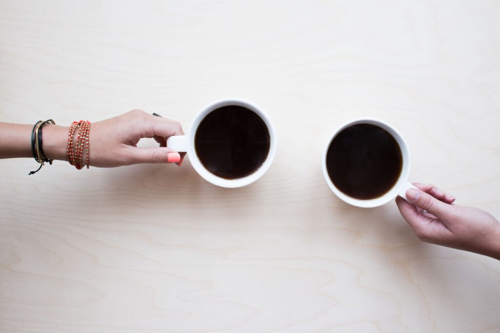 Verse bak koffie